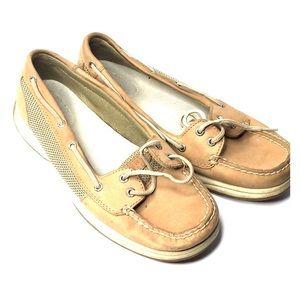 Sperry Women's tan 10M Boat shoe